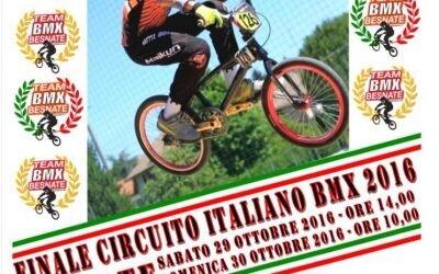 FINALE CIRCUITO ITALIANO BMX 2016 – BESNATE